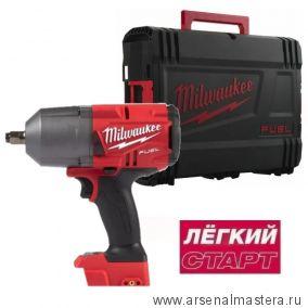 Легкий старт: Аккумуляторный импульсный гайковерт Milwaukee M18 FUEL FHIWF12-0X 4933459695