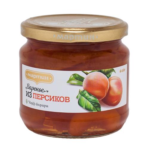 Варенье из персиков 390г