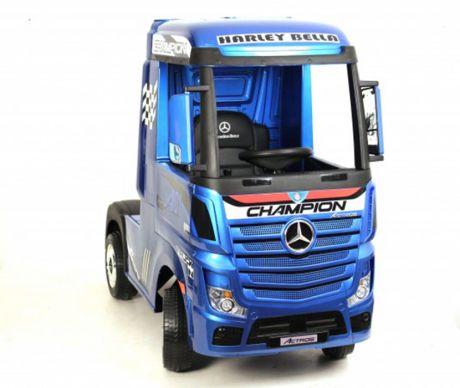Детский электромобиль Mercedes-Benz Actros 4WD с прицепом (HL358)