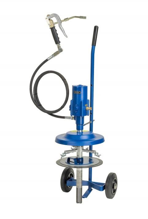 Система раздачи смазки, передвижная для емкостей 10 кг, ? 210-240 mm 18410051