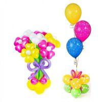 Комбо набор цветы и шары