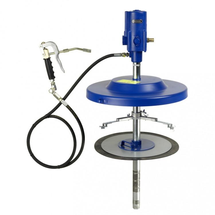 Система раздачи смазки, стационарная для емкостей 50 кг, ? 335-385 mm, шланг 4м 18764051