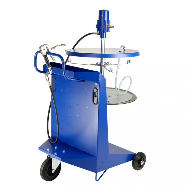 Система раздачи смазки, передвижная для емкостей 200 кг для , ? 540-590мм, шланг 4м 18786051