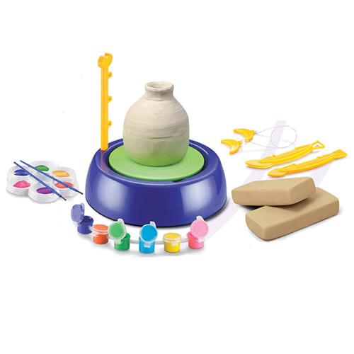 Детский гончарный круг Pottery Wheel, цвет - фиолетовый.
