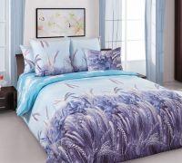 «Утренние лучи 2» (Зима-Лето) постельное белье Бязь 2-х спальный с евро