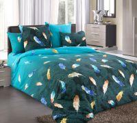 «Дуновение 1» (Зима-Лето) постельное белье Бязь 2-х спальный с евро