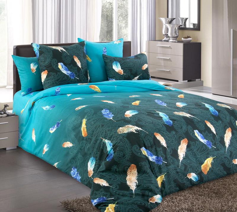 «Дуновение 1» (Зима-Лето) постельное белье Бязь 1.5 спальный