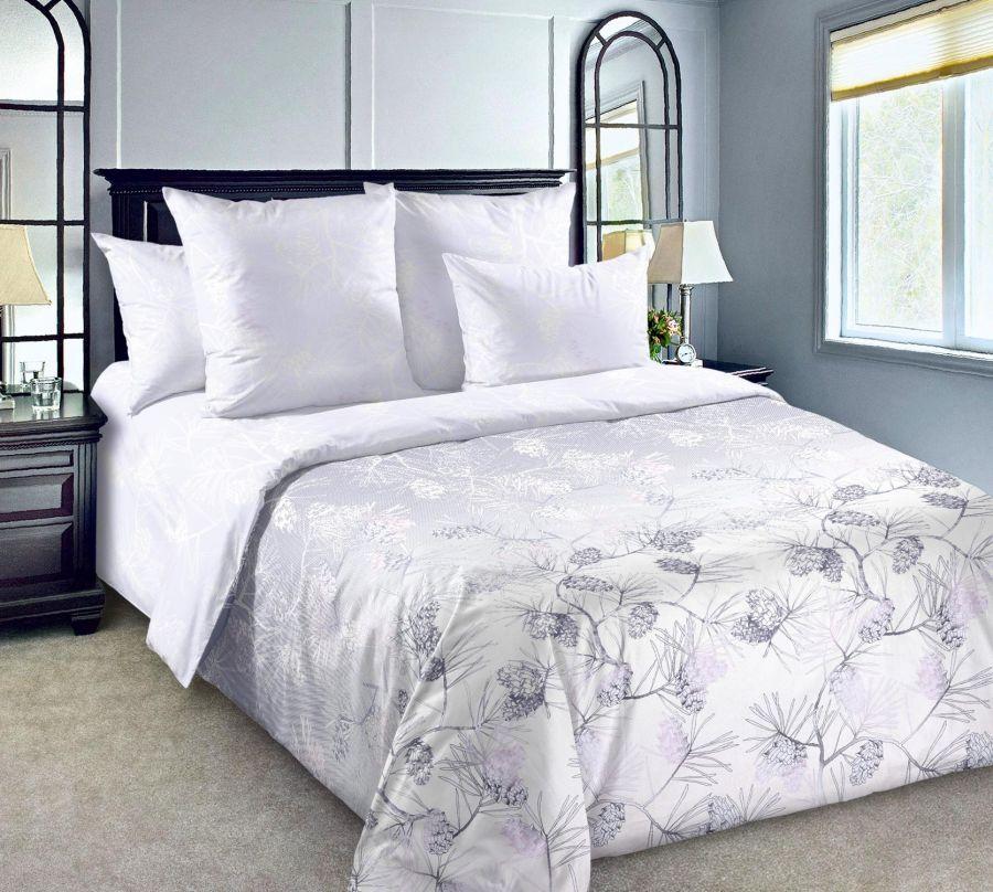«Кедр 3» постельное белье Сатин 2-х спальный с евро