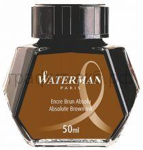 Чернила Waterman коричневые 51068