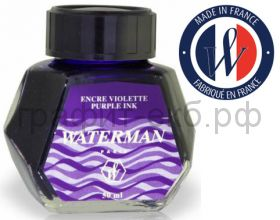 Чернила Waterman пурпурные S0110750