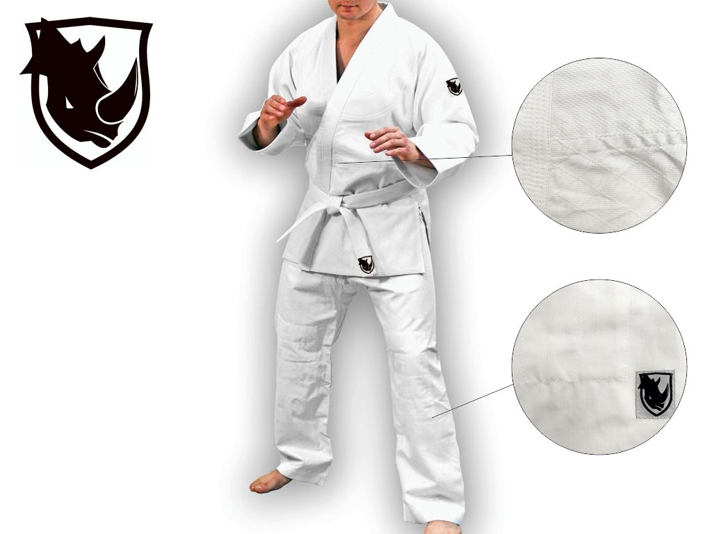 Кимоно для занятий дзюдо SPRINTER. Цвет: белый. Рост 155 см., артикул 00586