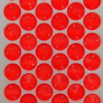Пришивные Стразы Red_Hyacinth Риволи 12 мм