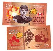 200 dollars Canada - Sidney Crosby (Сидни Кросби). Легенды хоккея (Canadian Hockey Legends). UNC