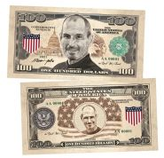 100 долларов (USA Dollars) — США. Стив Джобс (Steve Jobs). Памятная банкнота. UNC