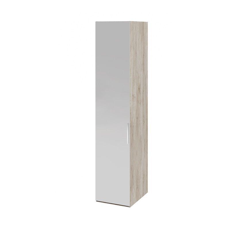 Шкаф для белья «Эмбер» с зеркальной дверью