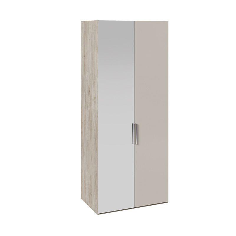 Шкаф для одежды «Эмбер» с 1 зеркальной дверью