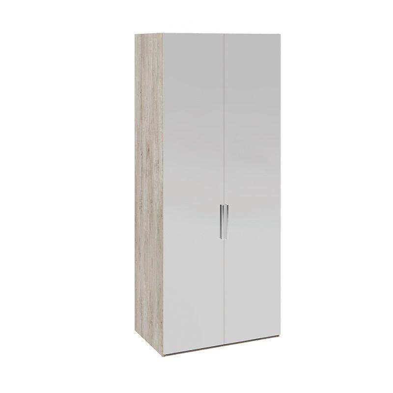 Шкаф для одежды «Эмбер» с зеркальными дверями