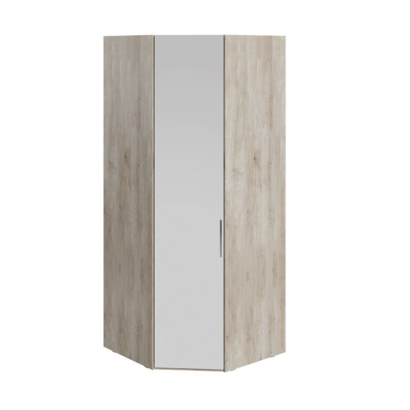 Шкаф угловой «Эмбер» с зеркальной дверью