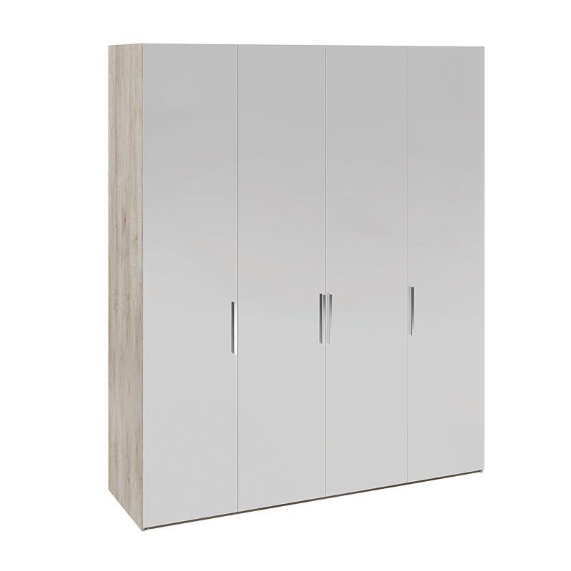 Шкаф комбинированный «Эмбер» с зеркальными дверями