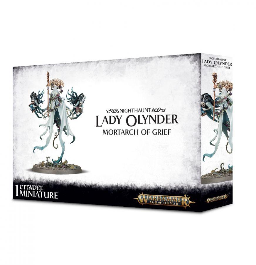 Warhammer AoS: Nighthaunt: Lady Olynder, Mortarch of Grief