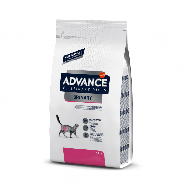 Сухой корм для кошек Veterinary Diets Urinary для лечения МКБ 1.5 кг