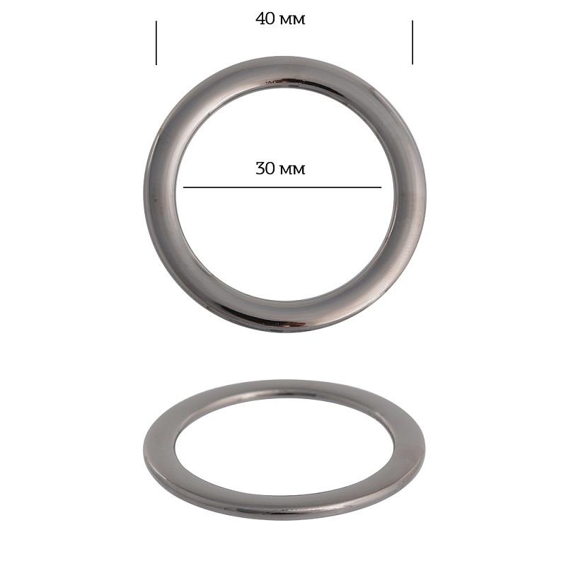 кольцо металл никель38,6