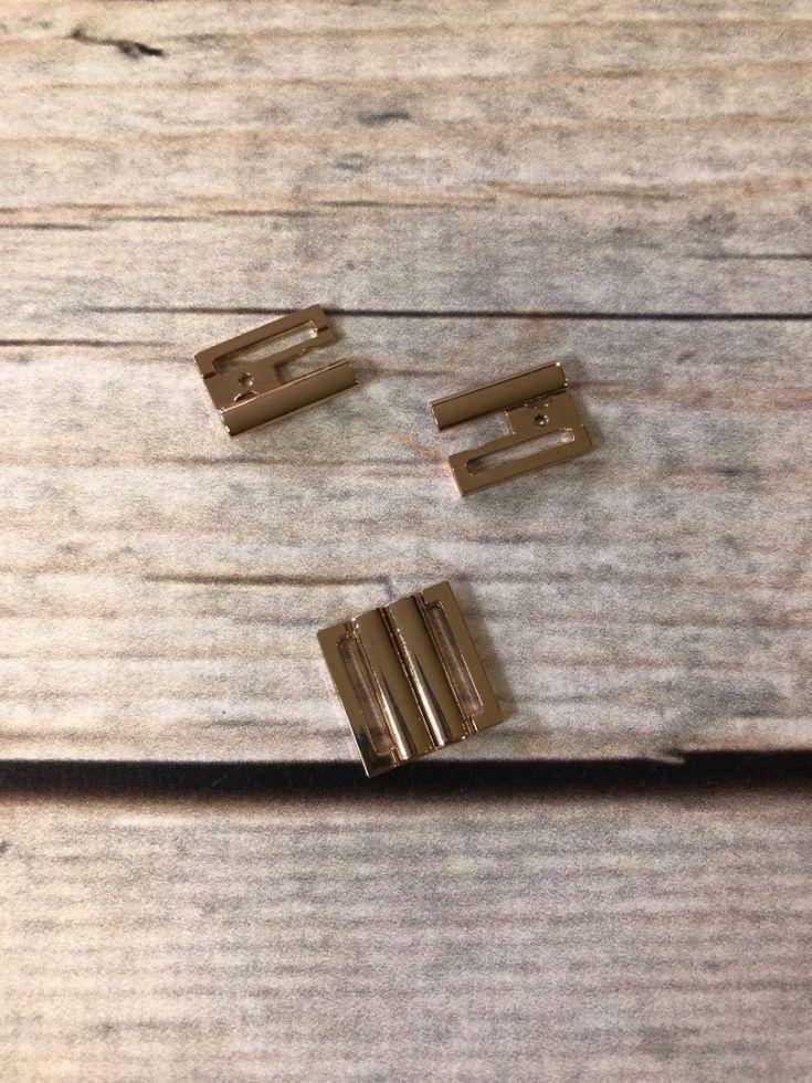 пряжка металл под резинку 15мм никель