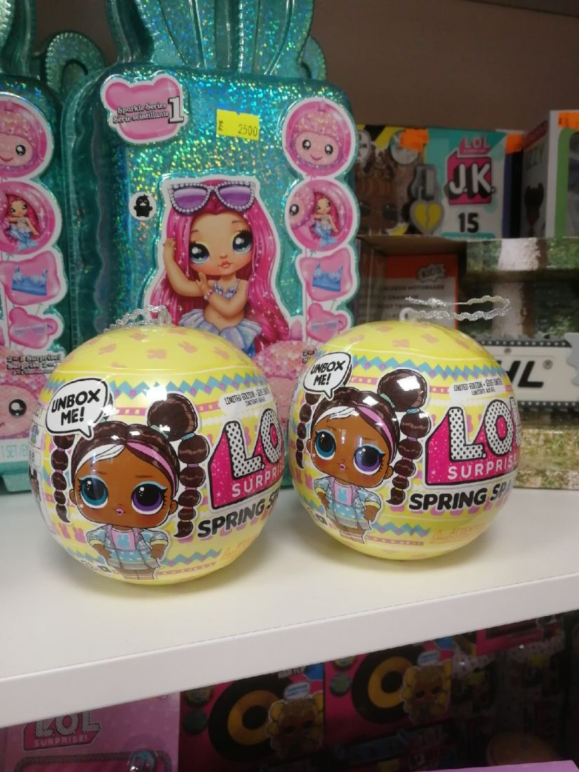 Кукла LOL Surprise Spring Sparkle Chick-A-Dee 574460