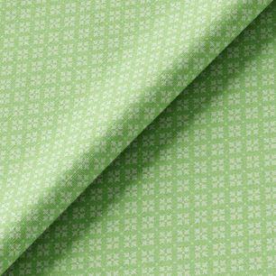 Хлопок орнамент на зеленом 50х37