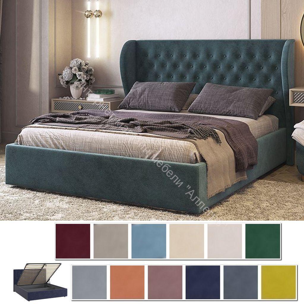 Кровать 1.6 Жасмин с подъем. механизмом