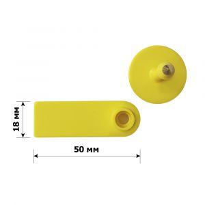 Бирка ушная 50*18 мм