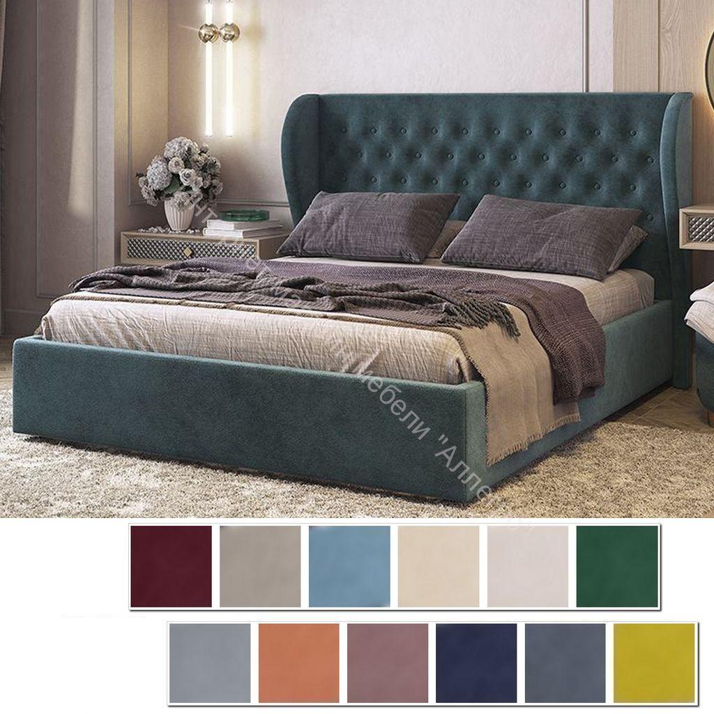 Кровать 1.6 Жасмин с основанием