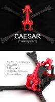 """Foxeer 5"""" CAESAR Racing Frame T700 купить в магазине для FPV пилотов QUADRO.TEAM с доставкой по всей России"""