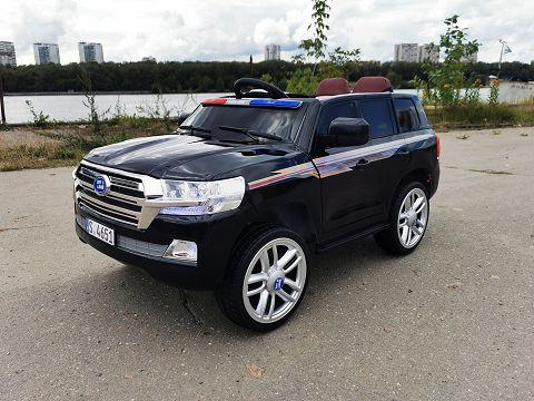 Детский электромобиль Toyota Land Сruiser 200 Police 4x4
