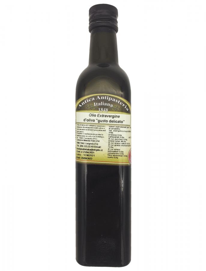 Масло оливковое нефильтрованное 500 мл, Olio d'oliva non filtrato Food & B 500 ml
