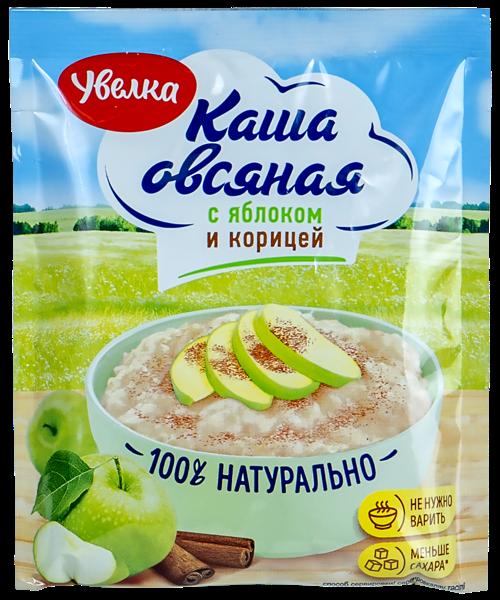 Каша Увелка 40г Овсяная яблоко корица
