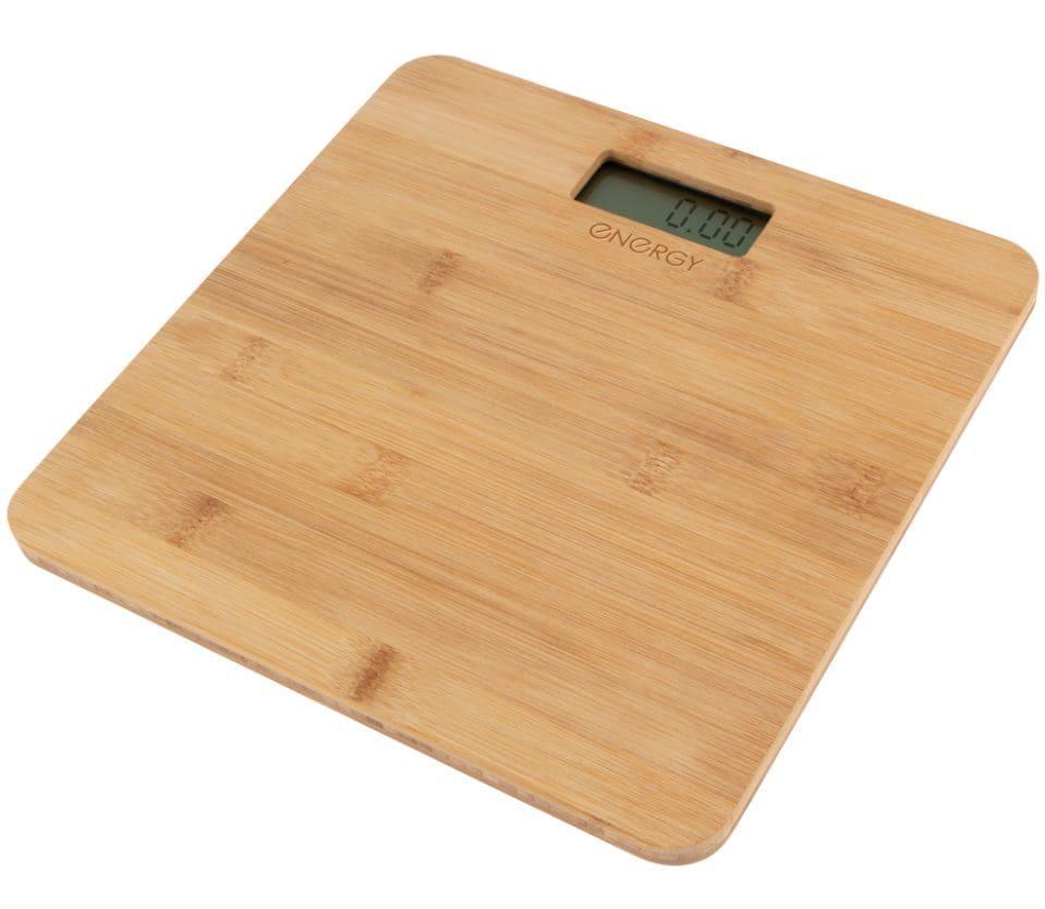 Весы напольные электронные ENERGY EN-412, бамбук