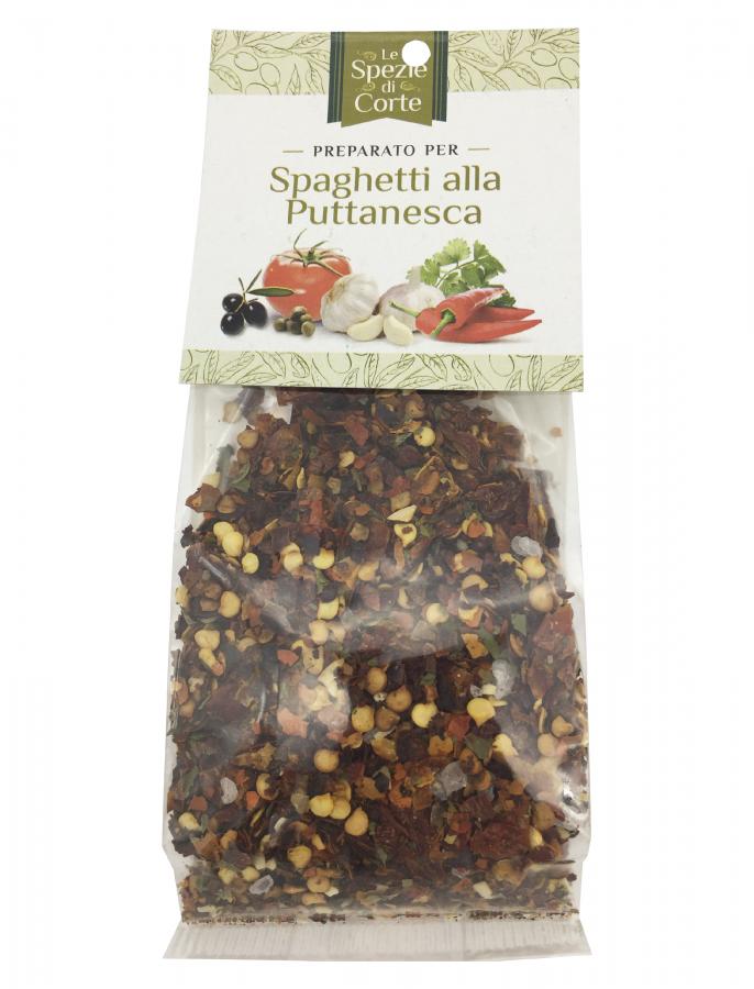 Специи для спагетти Путтанеска 50 г, La Corte d'Italia. Le spezie per spaghetti alla puttanesca 50 g
