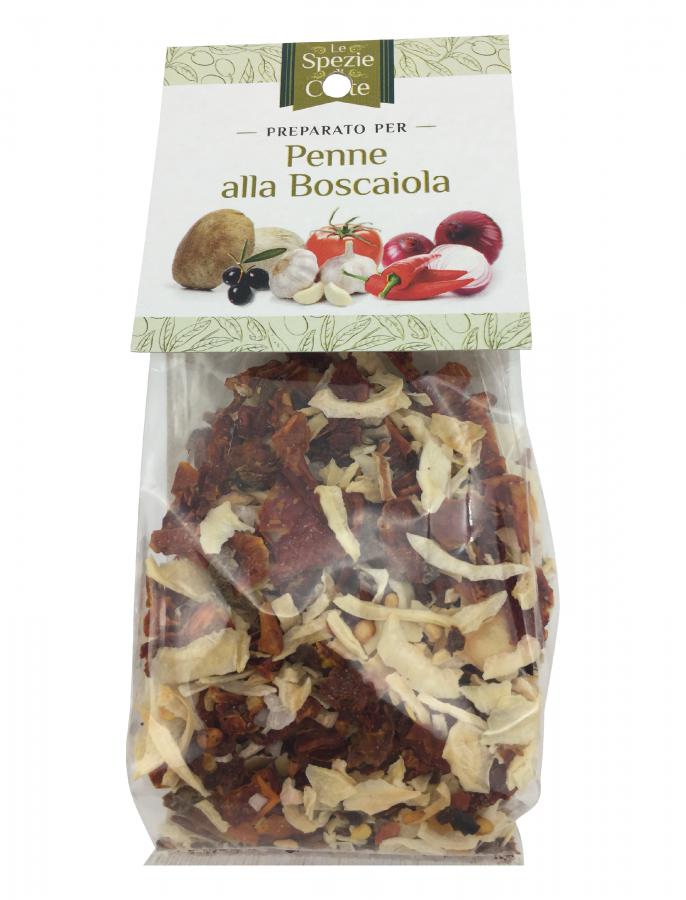 Специи для пенне Боскайола 50 г, La Corte d'Italia. Le spezie Penne alla Boscaiola 50 g