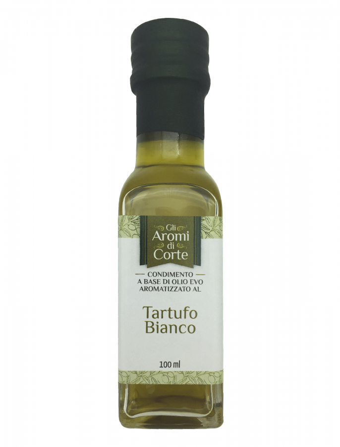 Масло оливковое с ароматом белого трюфеля 100 мл, La Corte d'Italia, Olio EVO al tartufo bianco 100 ml, La Corte d'Italia