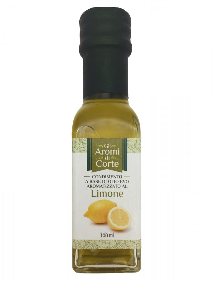 Масло оливковое с лимоном 100 мл, La Corte d'Italia, Olio EVO al limone 100 ml, La Corte d'Italia
