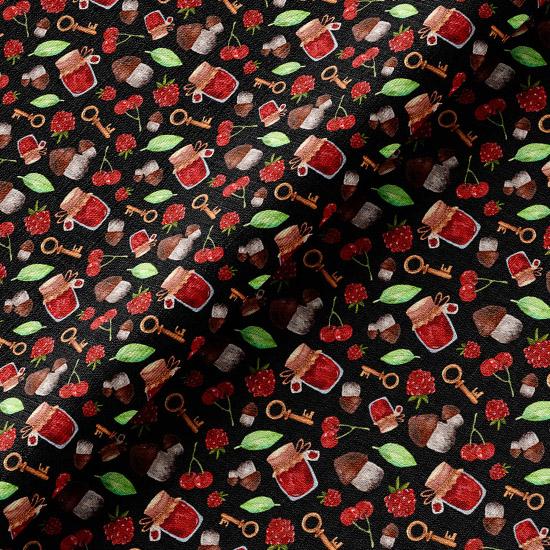 Хлопок ягодное варенье 50х37 см.