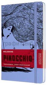 Книжка зап.Moleskine Large PINOCCHIO The Fairy нелинованный фиолетовый/черный LEPIQP062C