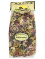 Паста сердечки 5 вкусов 500 г , Cuoricini ai 5 sapori Pastificio Curti 500 gr.