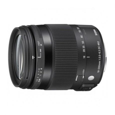 Sigma AF 18-200mm f/3.5-6.3 DC Macro OS HSM Contemporary Canon EF-S
