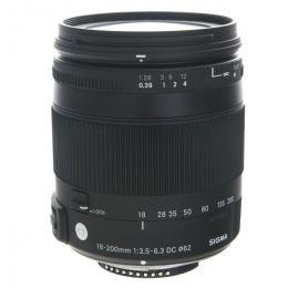 Sigma AF 18-200mm f/3.5-6.3 DC Macro OS HSM Contemporary Nikon F