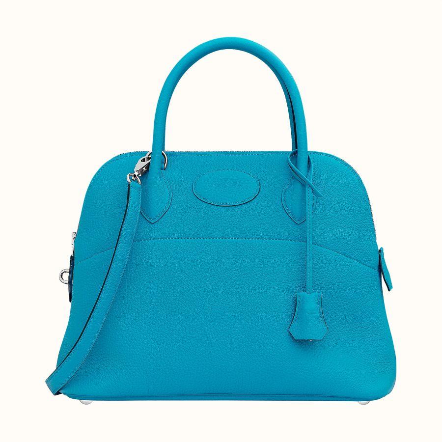Сумка Hermes Bolide 31 bag (Bleu Frida)