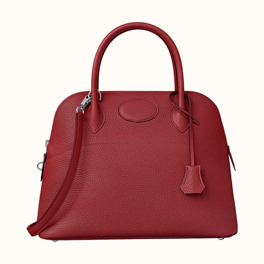 Сумка Hermes Bolide 31 bag (Rouge Grenat)