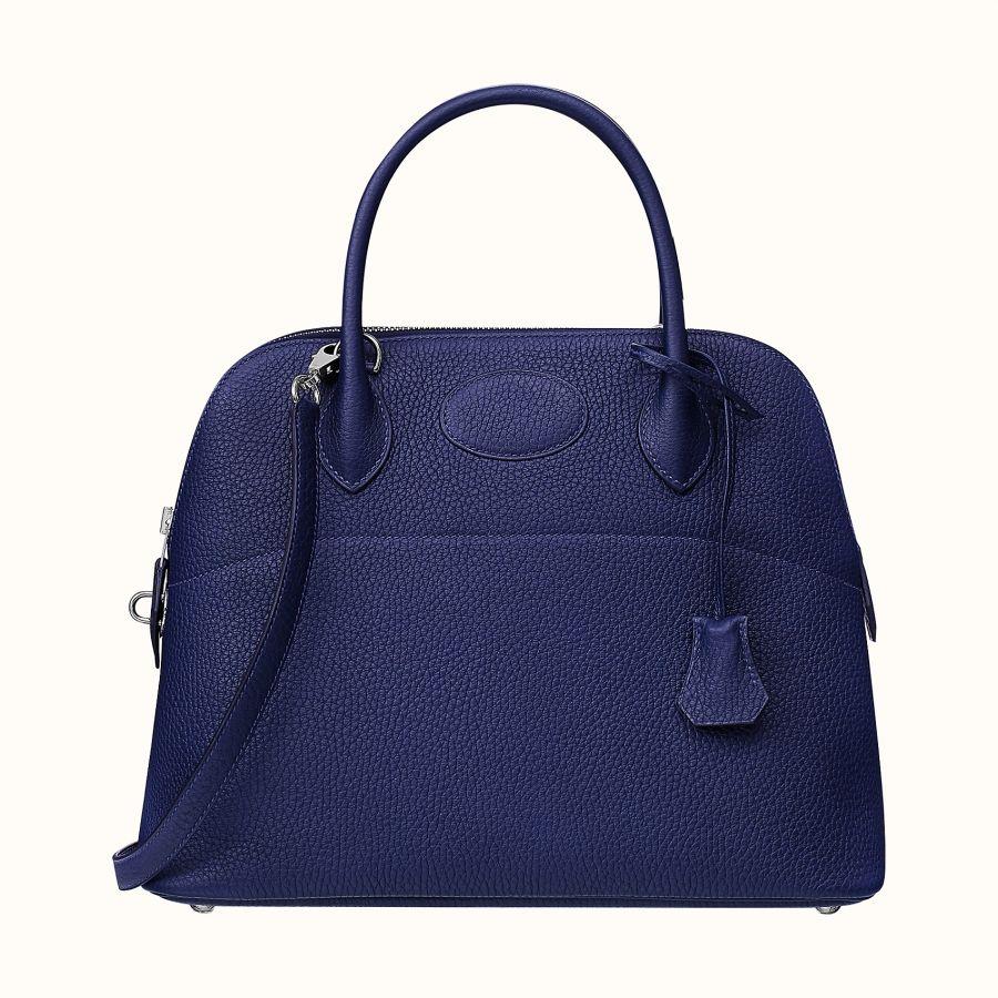 Сумка Hermes Bolide 31 bag (Bleu Encre)