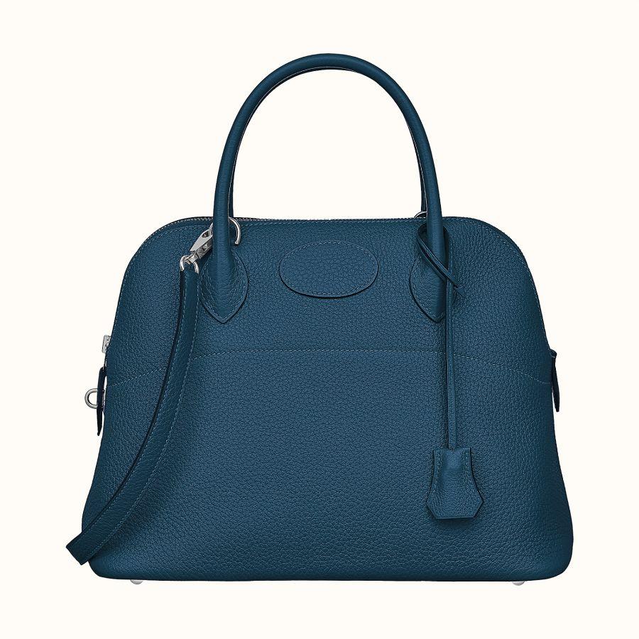 Сумка Hermes Bolide 31 bag (Deep Blue)